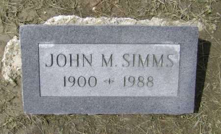 SIMMS, JOHN MARTIN - Lawrence County, Arkansas | JOHN MARTIN SIMMS - Arkansas Gravestone Photos