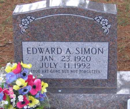 SIMON, EDWARD A. - Lawrence County, Arkansas | EDWARD A. SIMON - Arkansas Gravestone Photos