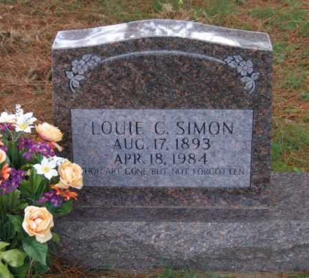 SIMON, LOUIE C. - Lawrence County, Arkansas | LOUIE C. SIMON - Arkansas Gravestone Photos