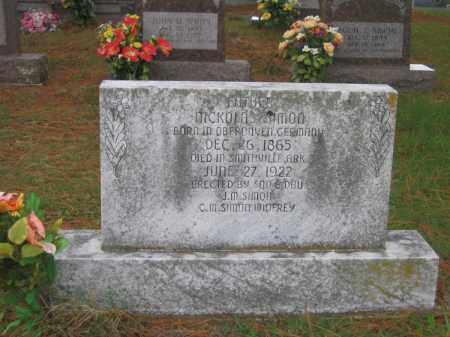 SIMON, NICKOLAS - Lawrence County, Arkansas | NICKOLAS SIMON - Arkansas Gravestone Photos