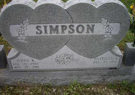 SIMPSON, JERRY R. - Lawrence County, Arkansas | JERRY R. SIMPSON - Arkansas Gravestone Photos