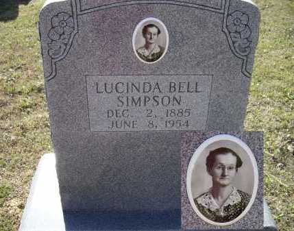 SIMPSON, LUCINDA BELL - Lawrence County, Arkansas | LUCINDA BELL SIMPSON - Arkansas Gravestone Photos