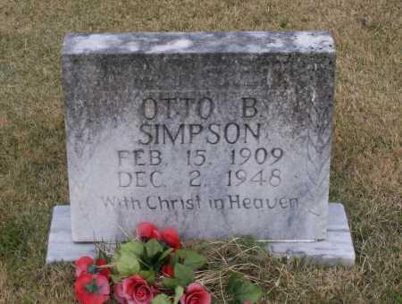 SIMPSON, OTTO BENTON - Lawrence County, Arkansas | OTTO BENTON SIMPSON - Arkansas Gravestone Photos
