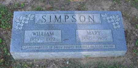 SIMPSON, WILLIAM - Lawrence County, Arkansas | WILLIAM SIMPSON - Arkansas Gravestone Photos