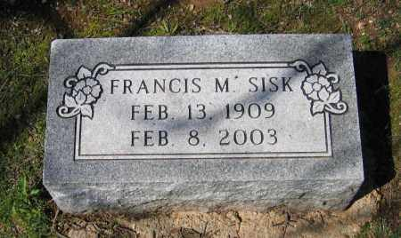 COWSERT SISK, FRANCIS MCKENZIE - Lawrence County, Arkansas | FRANCIS MCKENZIE COWSERT SISK - Arkansas Gravestone Photos