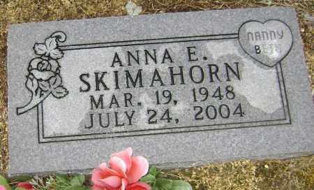 SKIMAHORN, ANNA ELIZABETH - Lawrence County, Arkansas | ANNA ELIZABETH SKIMAHORN - Arkansas Gravestone Photos