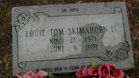 SKIMAHORN II, LOUIE TOM - Lawrence County, Arkansas | LOUIE TOM SKIMAHORN II - Arkansas Gravestone Photos