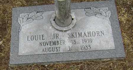 SKIMAHORN JR, LOUIE - Lawrence County, Arkansas | LOUIE SKIMAHORN JR - Arkansas Gravestone Photos