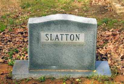 SLATTON FAMILY STONE,  - Lawrence County, Arkansas |  SLATTON FAMILY STONE - Arkansas Gravestone Photos
