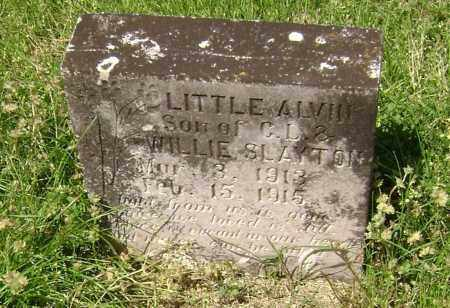 SLAYTON, ALVIN - Lawrence County, Arkansas | ALVIN SLAYTON - Arkansas Gravestone Photos
