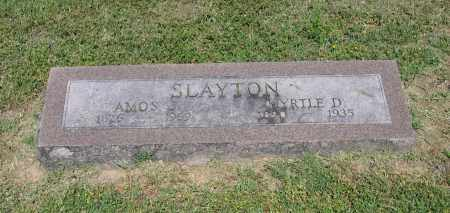 SLAYTON, MYRTLE D. - Lawrence County, Arkansas | MYRTLE D. SLAYTON - Arkansas Gravestone Photos