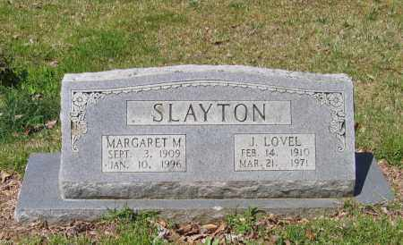 SLAYTON, MARGARET M. - Lawrence County, Arkansas | MARGARET M. SLAYTON - Arkansas Gravestone Photos