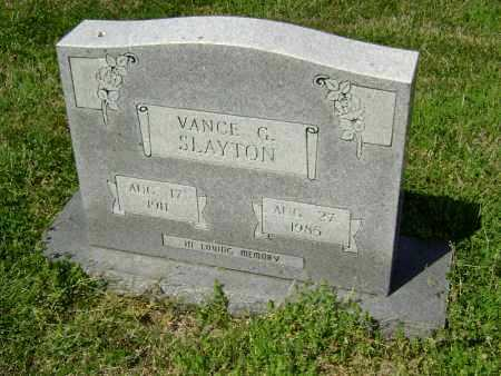 SLAYTON, VANCE G. - Lawrence County, Arkansas | VANCE G. SLAYTON - Arkansas Gravestone Photos