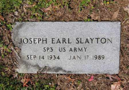 SLAYTON (VETERAN), JOSEPH EARL - Lawrence County, Arkansas | JOSEPH EARL SLAYTON (VETERAN) - Arkansas Gravestone Photos