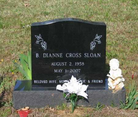 CROSS SLOAN, BARBARA DIANNE - Lawrence County, Arkansas | BARBARA DIANNE CROSS SLOAN - Arkansas Gravestone Photos
