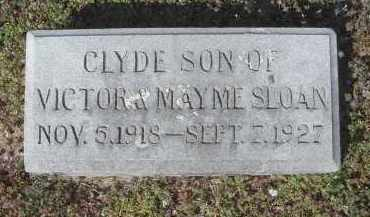 SLOAN, CLYDE - Lawrence County, Arkansas | CLYDE SLOAN - Arkansas Gravestone Photos