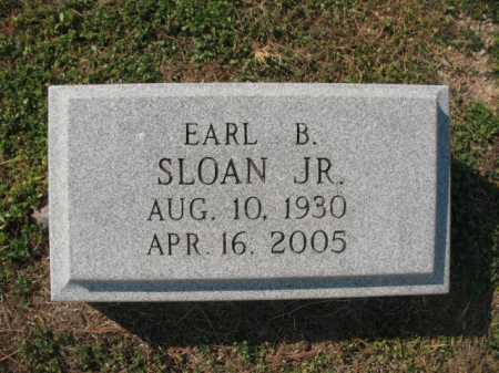 SLOAN, JR., EARL BABER - Lawrence County, Arkansas | EARL BABER SLOAN, JR. - Arkansas Gravestone Photos