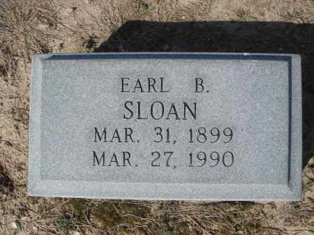 SLOAN, SR., EARL BABER - Lawrence County, Arkansas | EARL BABER SLOAN, SR. - Arkansas Gravestone Photos