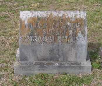SLOAN, FRANCES ELIZABETH - Lawrence County, Arkansas | FRANCES ELIZABETH SLOAN - Arkansas Gravestone Photos
