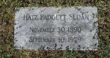 "PADGETT SLOAN, HARRIETT ELEANOR ""HATZ"" - Lawrence County, Arkansas 