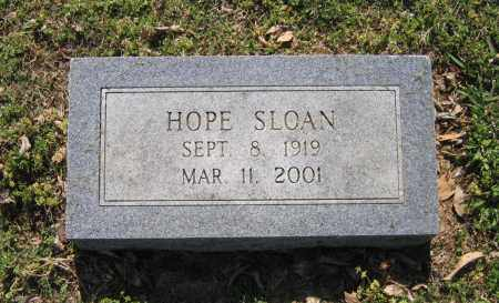 SLOAN, HOPE JOSEPHINE - Lawrence County, Arkansas | HOPE JOSEPHINE SLOAN - Arkansas Gravestone Photos