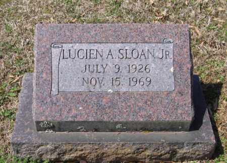 SLOAN, JR., LUCIEN ANDREWS - Lawrence County, Arkansas | LUCIEN ANDREWS SLOAN, JR. - Arkansas Gravestone Photos