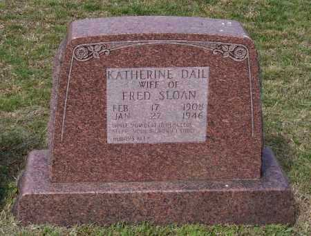 SLOAN, KATHERINE - Lawrence County, Arkansas | KATHERINE SLOAN - Arkansas Gravestone Photos