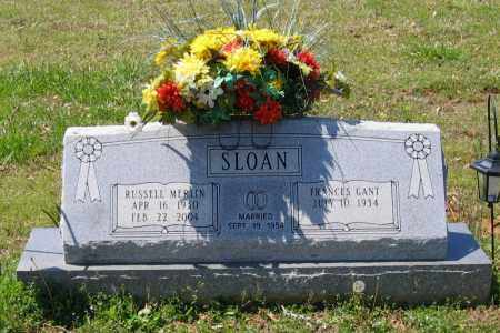 SLOAN, RUSSELL MERLIN - Lawrence County, Arkansas | RUSSELL MERLIN SLOAN - Arkansas Gravestone Photos