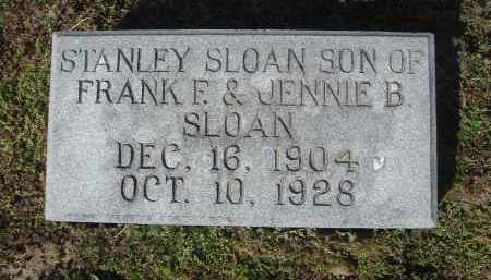 SLOAN, STANLEY - Lawrence County, Arkansas | STANLEY SLOAN - Arkansas Gravestone Photos