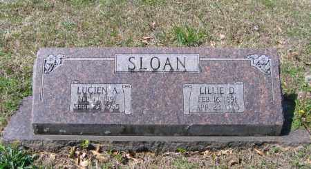 DALTON SLOAN, LILLIE - Lawrence County, Arkansas | LILLIE DALTON SLOAN - Arkansas Gravestone Photos