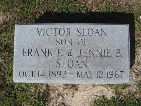SLOAN, VICTOR - Lawrence County, Arkansas | VICTOR SLOAN - Arkansas Gravestone Photos