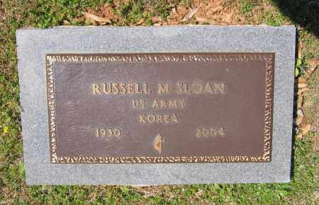 SLOAN (VETERAN KOR), RUSSELL MERLIN - Lawrence County, Arkansas | RUSSELL MERLIN SLOAN (VETERAN KOR) - Arkansas Gravestone Photos