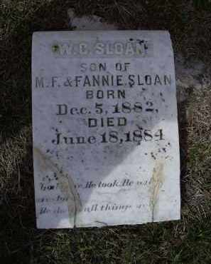 "SLOAN, WILLIAM COMFORT ""W. C."" - Lawrence County, Arkansas 
