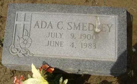 SMEDLEY, ADA C - Lawrence County, Arkansas | ADA C SMEDLEY - Arkansas Gravestone Photos