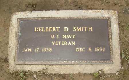 SMITH  (VETERAN), DELBERT D. - Lawrence County, Arkansas   DELBERT D. SMITH  (VETERAN) - Arkansas Gravestone Photos