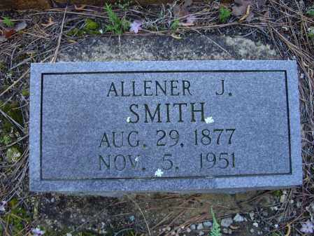 "SMITH, ALLENA JEANETTE ""ALLENER"" - Lawrence County, Arkansas 