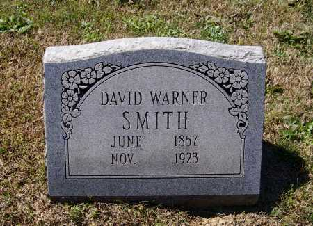 SMITH, DAVID WARNER - Lawrence County, Arkansas | DAVID WARNER SMITH - Arkansas Gravestone Photos