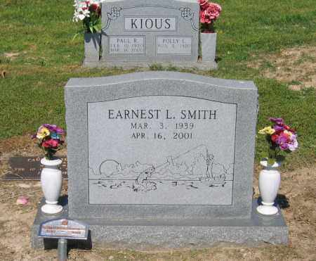 SMITH, EARNEST L. - Lawrence County, Arkansas | EARNEST L. SMITH - Arkansas Gravestone Photos