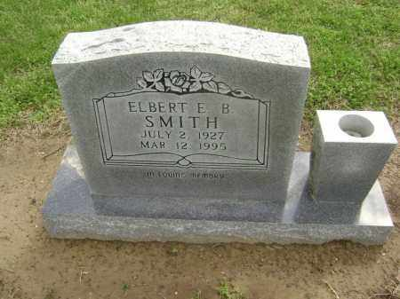 SMITH, ELBERT B - Lawrence County, Arkansas | ELBERT B SMITH - Arkansas Gravestone Photos