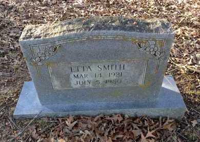 "SMITH, MARTHA JANE ROSETTA ""ETTA"" - Lawrence County, Arkansas | MARTHA JANE ROSETTA ""ETTA"" SMITH - Arkansas Gravestone Photos"