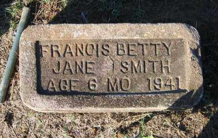 SMITH, FRANCIS BETTY JANE - Lawrence County, Arkansas | FRANCIS BETTY JANE SMITH - Arkansas Gravestone Photos