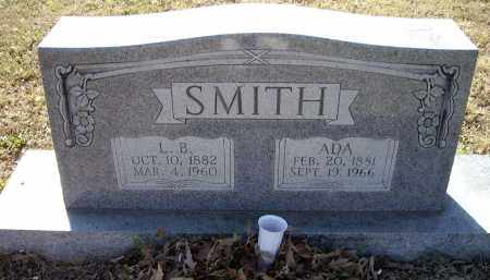 SPARKS SMITH, ADA ELIZABETH - Lawrence County, Arkansas | ADA ELIZABETH SPARKS SMITH - Arkansas Gravestone Photos