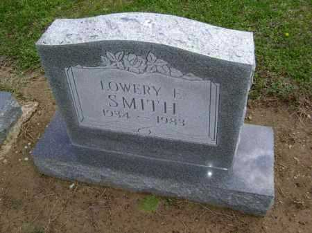 SMITH, LOWERY E - Lawrence County, Arkansas | LOWERY E SMITH - Arkansas Gravestone Photos