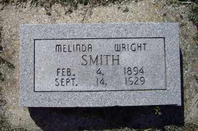 WRIGHT SMITH, MELINDA - Lawrence County, Arkansas | MELINDA WRIGHT SMITH - Arkansas Gravestone Photos