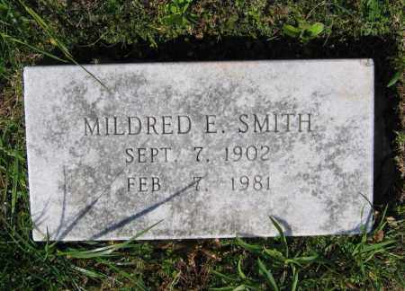 SMITH, MILDRED E. - Lawrence County, Arkansas | MILDRED E. SMITH - Arkansas Gravestone Photos