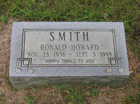 SMITH, RONALD HOWARD - Lawrence County, Arkansas | RONALD HOWARD SMITH - Arkansas Gravestone Photos