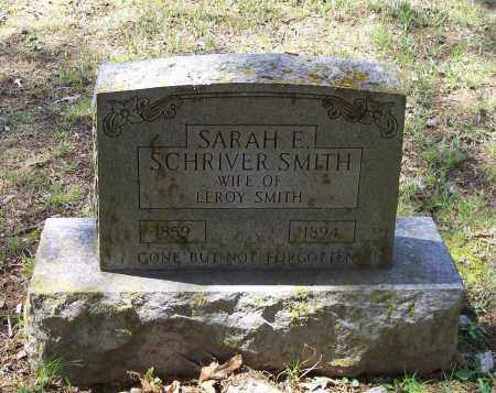 SMITH, SARAH E. SCHRIVER - Lawrence County, Arkansas | SARAH E. SCHRIVER SMITH - Arkansas Gravestone Photos