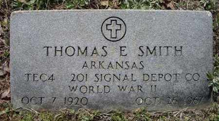 SMITH (VETERAN WWII), THOMAS EMERY - Lawrence County, Arkansas | THOMAS EMERY SMITH (VETERAN WWII) - Arkansas Gravestone Photos