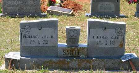 SMITH, FLORENCE VIETTIE - Lawrence County, Arkansas | FLORENCE VIETTIE SMITH - Arkansas Gravestone Photos