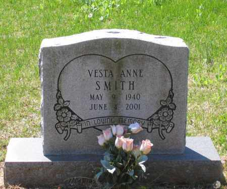 SMITH, VESTA ANNE - Lawrence County, Arkansas | VESTA ANNE SMITH - Arkansas Gravestone Photos